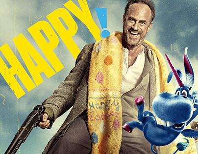 Happy! Season 2 | Key Art Campaign