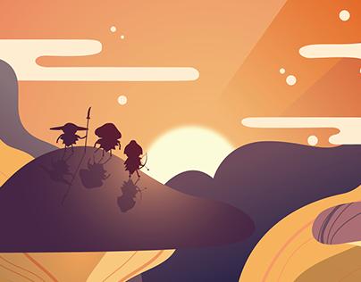 Tales of the Mushurai - Game Trailer