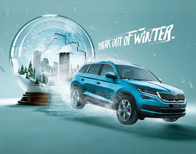 Škoda - Break out of winter
