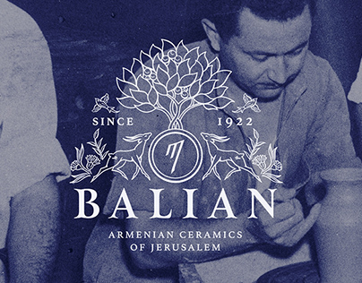 Balian Armenian Ceramics of Jerusalem | Visual Identity
