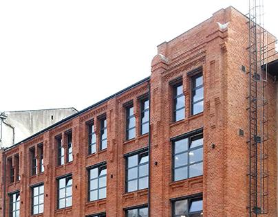 Zenit Łódź- rewitalizacja budynku nr.20