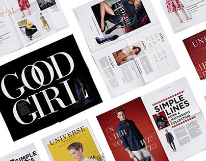 Universe Magazine Carolina Herrera | Concepto Magazin