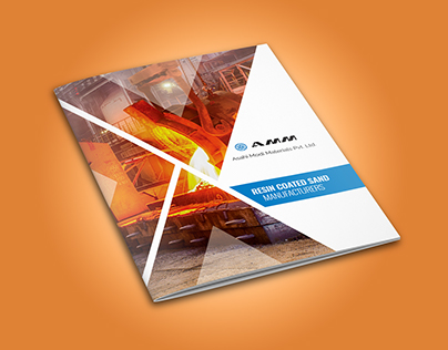 Brochure design for AMM (Asahi Modi Materials)