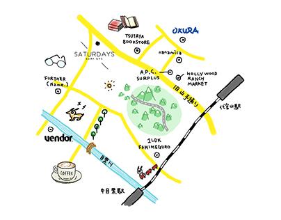 TOKYO SHOPPING MAP / 2014