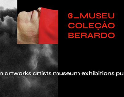 Museu Coleção Berardo website redesign