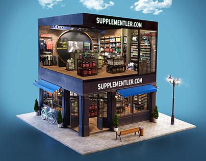 Supplementler.com Shop Ads