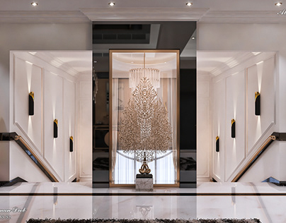 Modern Entrance - Living Hall