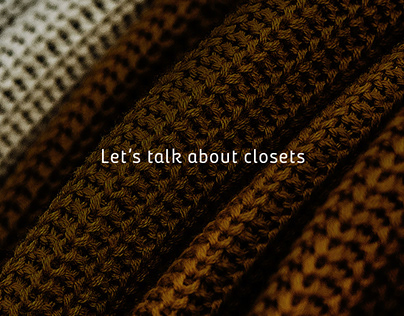 Let´s talk about closets. Homecenter