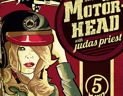 Double Gig Poster for Judas Priest and Motorhead