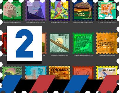 Estampillas - Postage Stamps 02