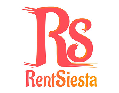 RentSiesta Logo Design