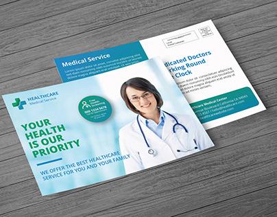MEDICAL POST CARD DESIGN