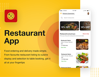 Restaurant App - Order Food