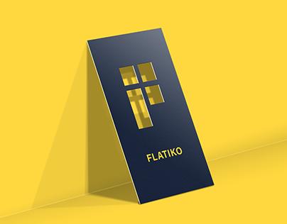 Flatiko. Brand identity for home rental service