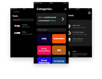 Wikitools | Mobile App