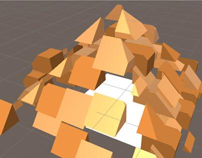 Pirámide con Realidad Aumentada AR