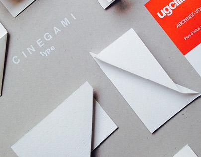 Cinegami - Workshop - typographie