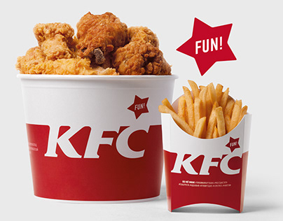 KFC Russia. Redesign