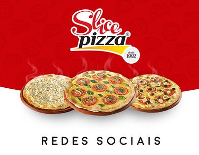 Slice Pizza - Redes sociais