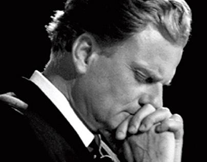 Billy Graham Digital Billboard Tribute