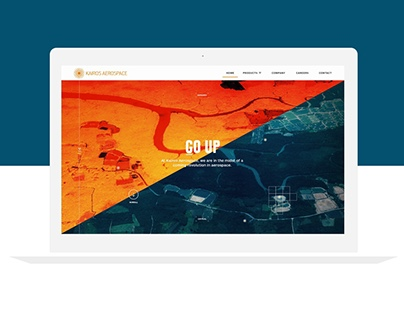 Kairos Aerospace - Website Design