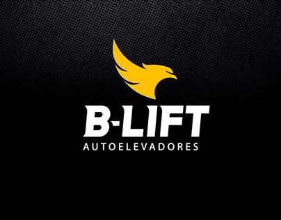 Corporate Identity B-LIFT Autolevadores