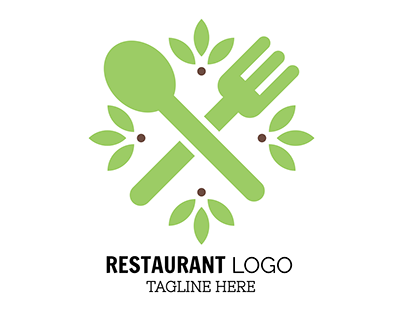 Customized Restaurant Logo Template