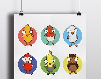 Illustration Birds
