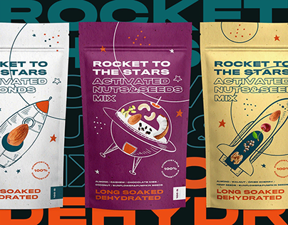 ROCKET TO THE STARS packaging