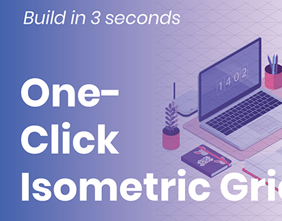 One-click Isometric Grid Action