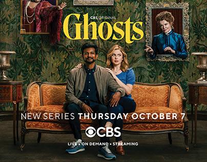 Ghosts // CBS Original // Posters