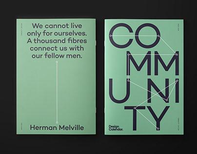 Design Calendar March Print Edition