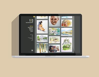 Site WordPress Yves Doin Aquarelles
