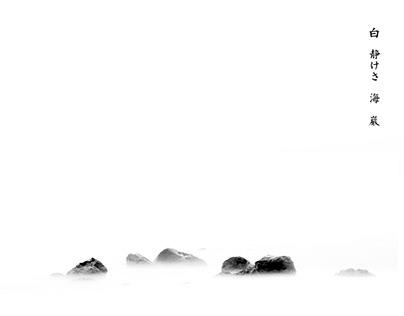 White Silence Sea Rock