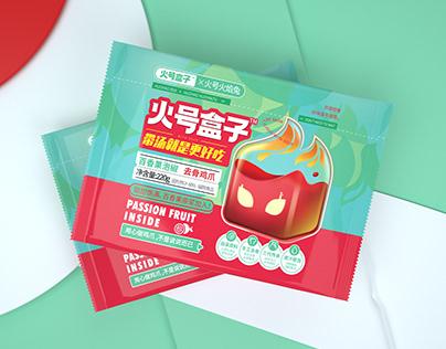 尚智×火号 | 无骨凤爪系列包装设计