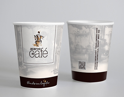 Coffee Cup Design Acervo do Café