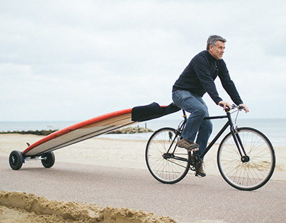 SUP carrier for your bike