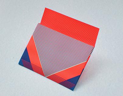 Riso print envelope