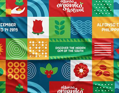 Alfonso Organiko Festival | Event Brand Identity
