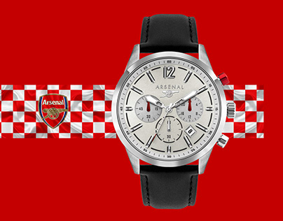 Arsenal Watch Photography and Retouch