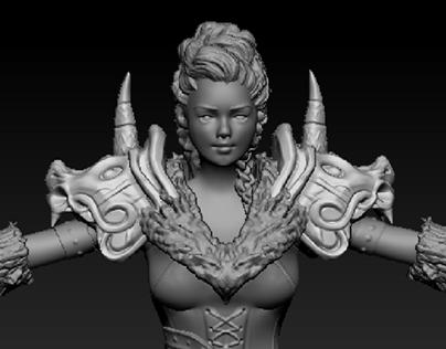 3D Modeling {AssetCreation/3D/Sculpting}