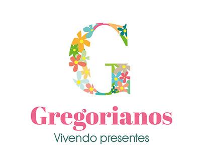 Gregorianos - Logotipo e Convites