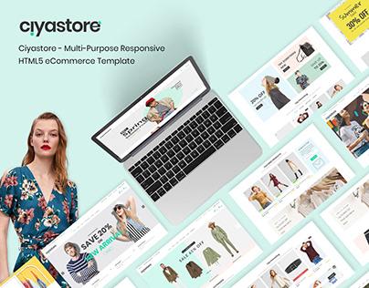 Ciyastore - Responsive HTML5 eCommerce Template