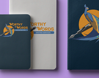 Worthy Words Writing Services Branding