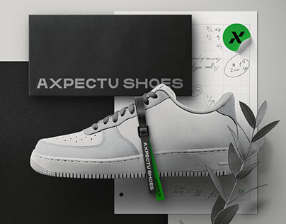 Axpectu Shoes - Branding & Web design