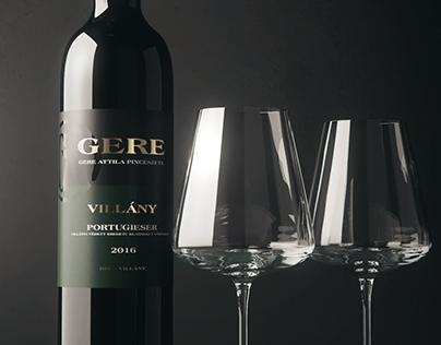 3D Wine Scene - Gere Attila borászat