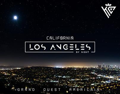 USA - Los Angeles by Night