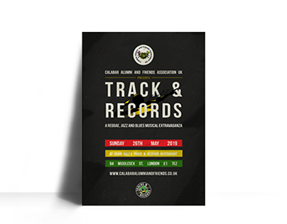 Poster Design - Track and Records