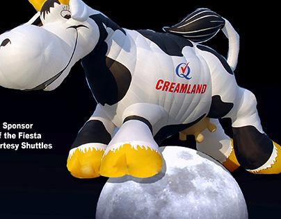 Creamland Dairy - 2007 International Balloon Fiesta Ad