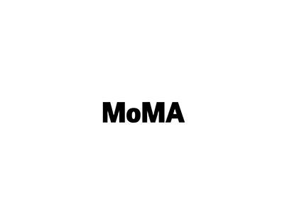 "POSTER • MoMA ""Typo Exhibitions"""